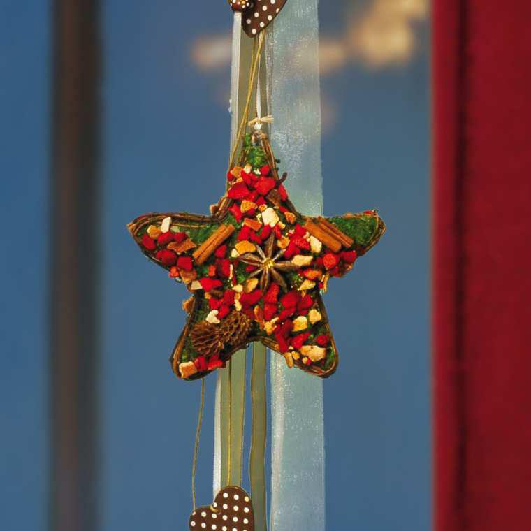 fensterh nger gew rzstern weihnachtliche fensterdeko. Black Bedroom Furniture Sets. Home Design Ideas