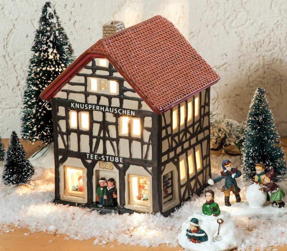 Miniatur Weihnachtsdorf online kaufen » Töpferei Langerwehe